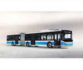 18 meter Pure electric city bus