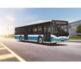 12 meters Pure Electric City Bus