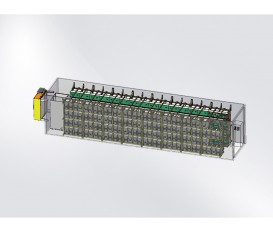1MW·h BATTERY SYSTEM DIAGRAM (40-FOOT STANDARD CONTAINER)