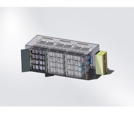 500kW·h BATTERY SYSTEM DIAGRAM (20-FOOT STANDARD CONTAINER)
