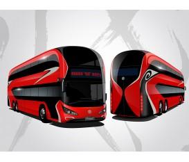 GTQ6131BEVST9臉譜雙層巴士(shi)