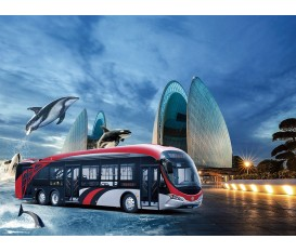 13.7米海豚公交车