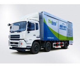 600kWh電池儲能充電車