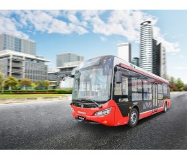 10米圆头公交车