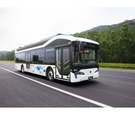 12米氢燃料电池客车